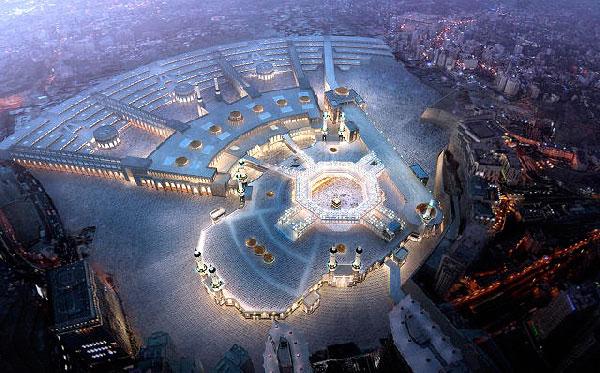 В Саудовской Аравии арестован иностранец, который подозревается в осквернении Священной Каабы