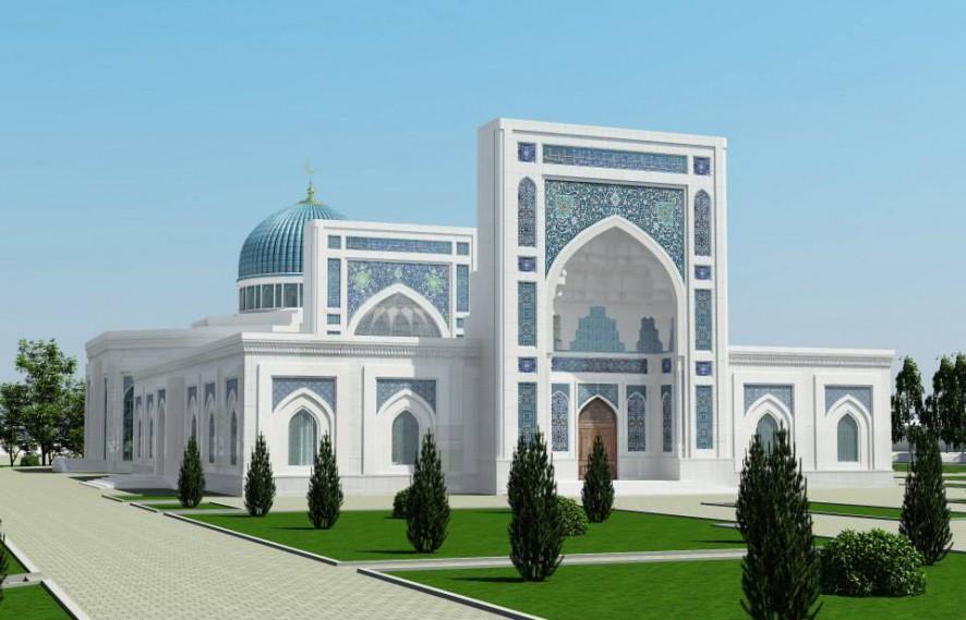 Внешний вид мечети